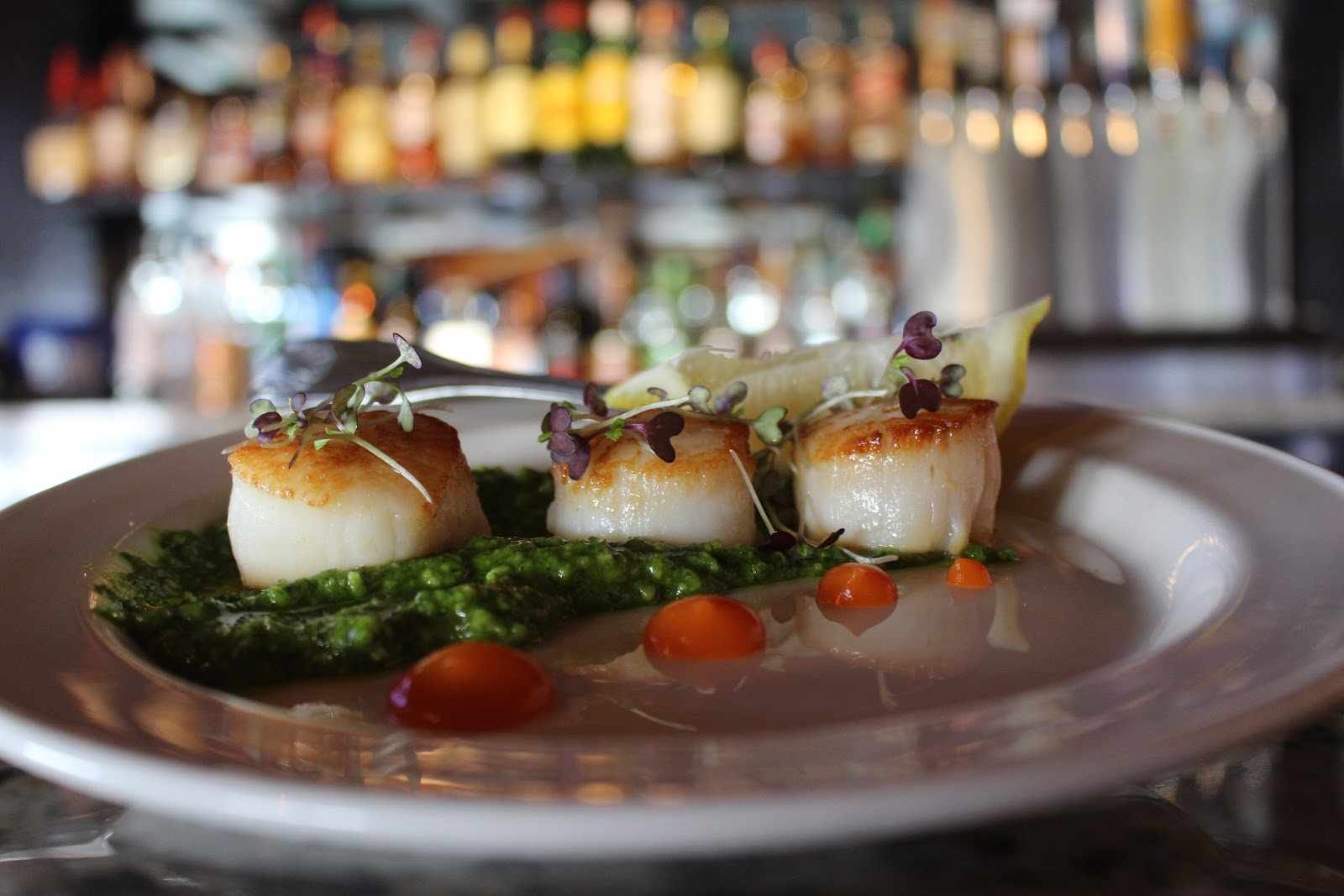 scallops meal